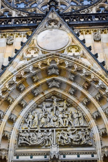 St Vitus Cathedral - Door Close up