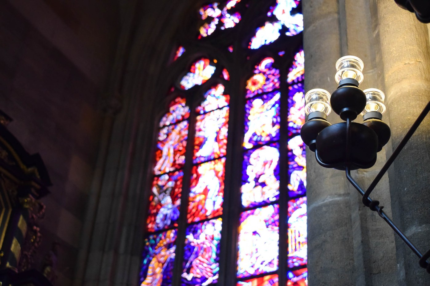 St Vitus Cathedral candles