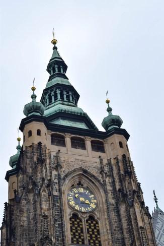 St Vitus Cathedral closeup