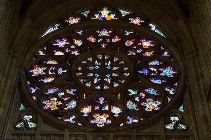 St Vitus Cathedral glass windows