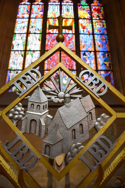 St Vitus Cathedral interior closeup