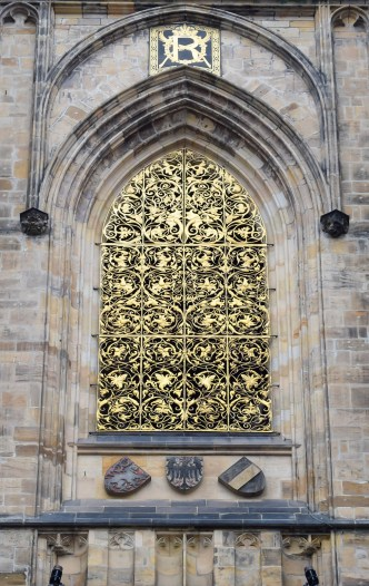 St Vitus Cathedral intricate work outside