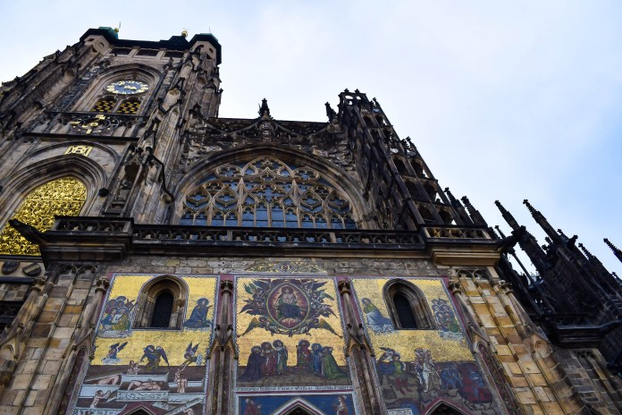 St Vitus Cathedral work
