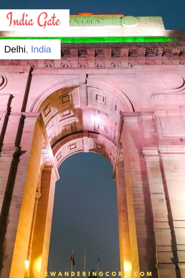 Historic India Gate Delhi India #travel #india #delhi