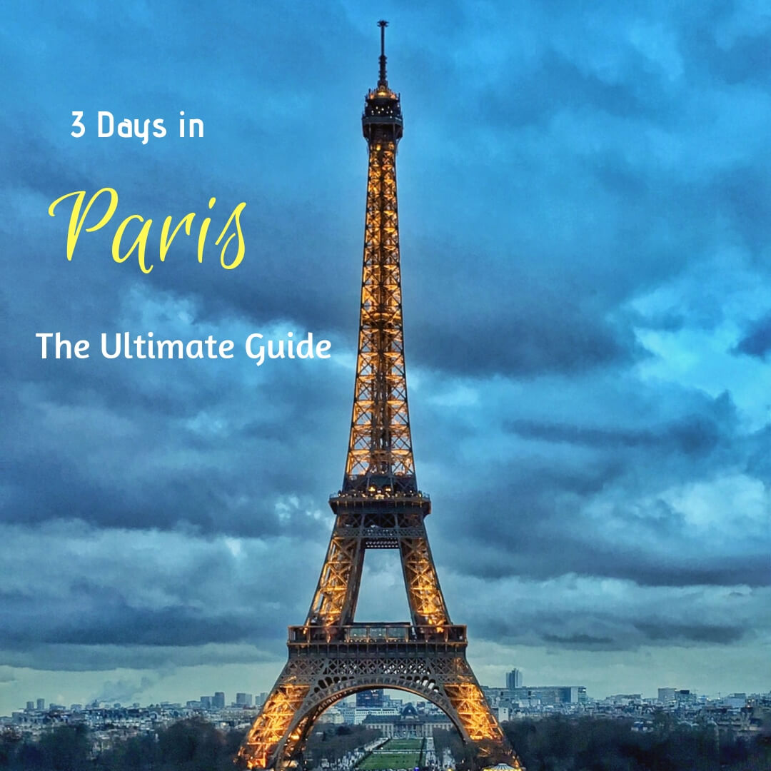 Paris Itinerary - The Wandering Core