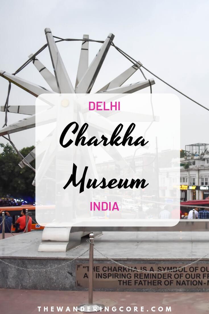 Charkha Museum   Khadi History   Connaught Place   Delhi   India #charkhamuseum #delhi #india #thewanderingcore