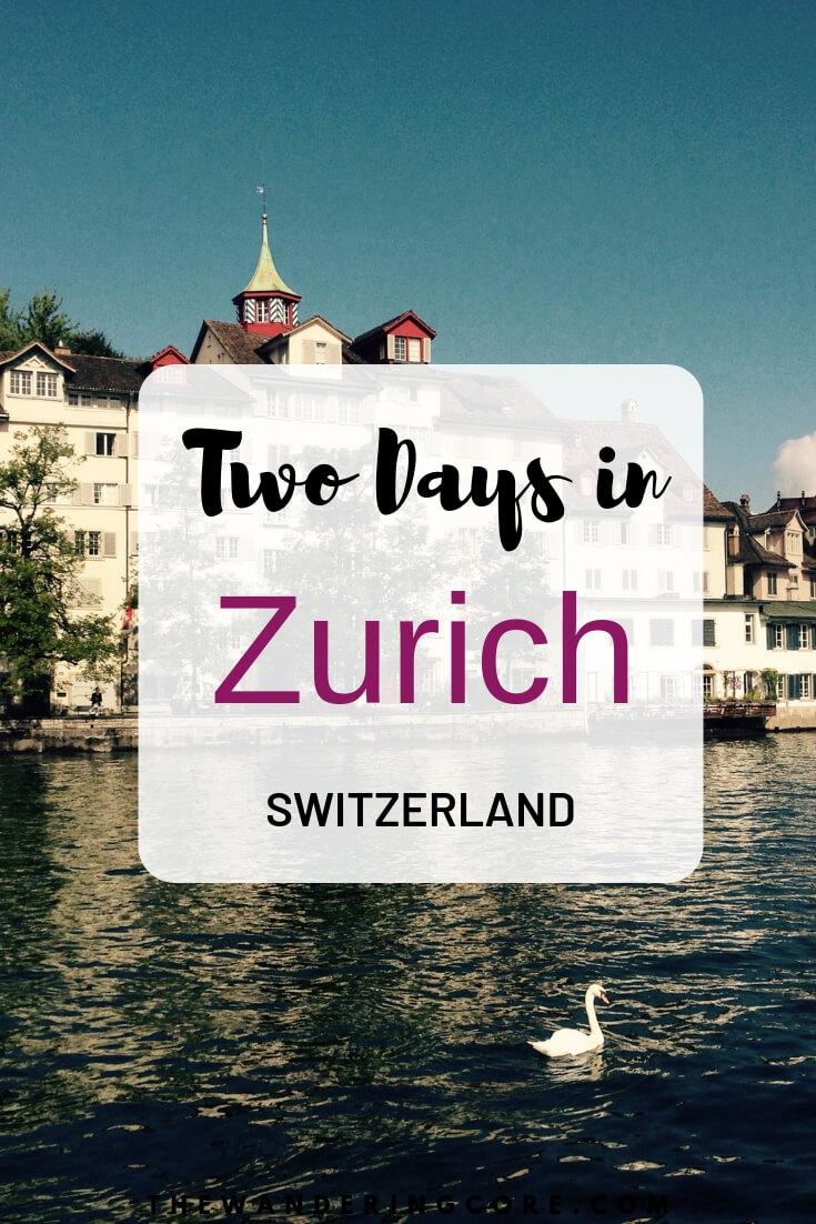 Meandering in Snow: Savor two days in Zurich with best places to visit | Zurich in 2 days |2 days in Zurich | two days in Zurich | Places to visit in Zurich in 2 days | #zurich #switzerland