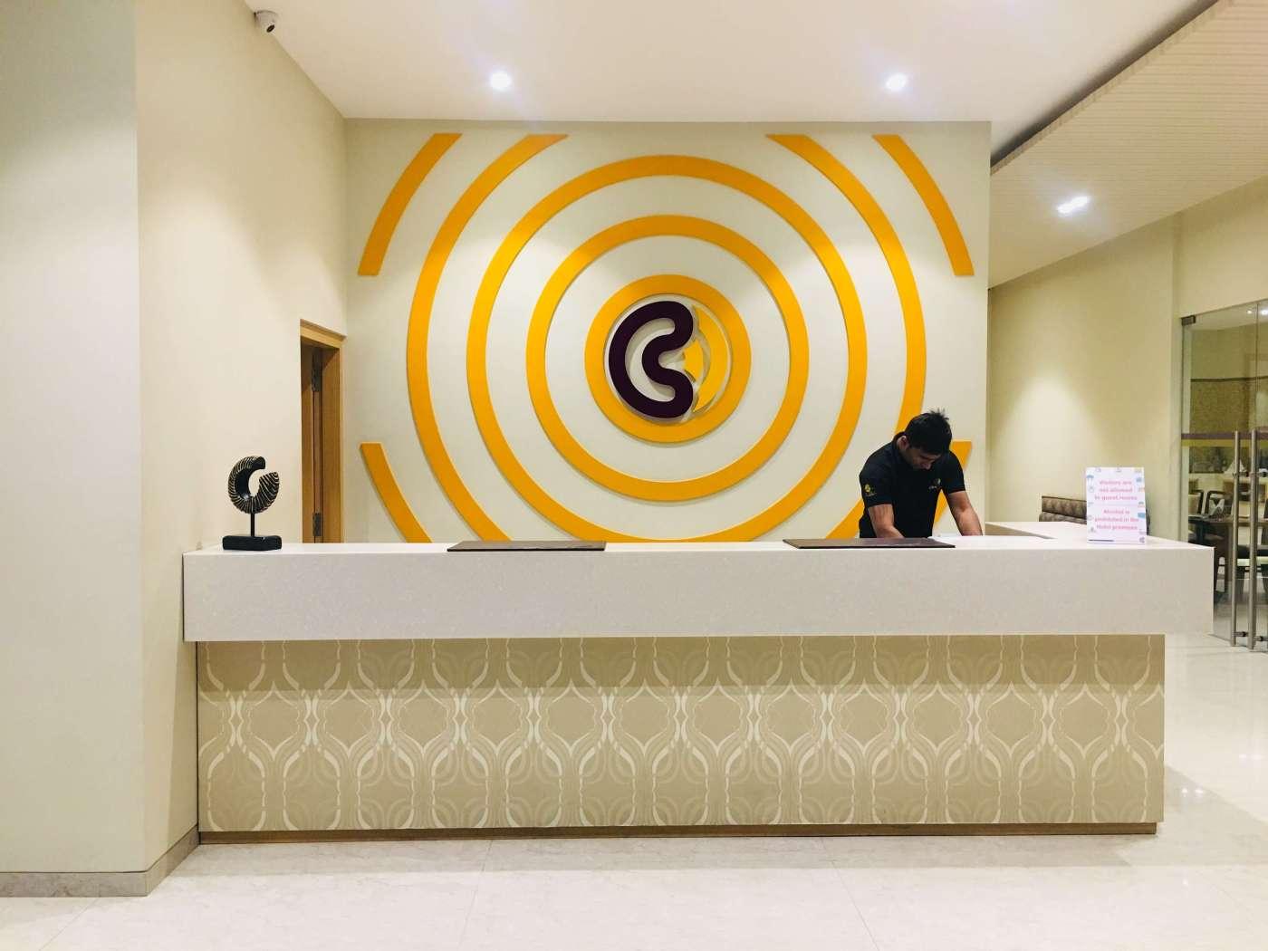 Click hotel junagadh reception