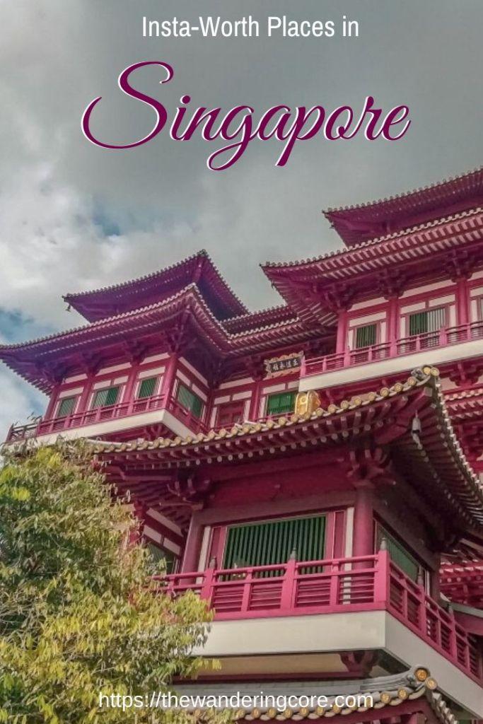 Singapore Insta Worthy | Singapore Trip | Singapore Instagrammable
