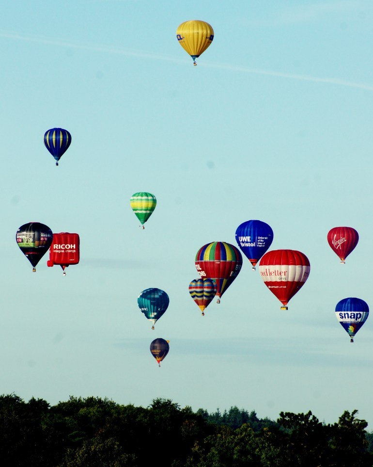 The Wandering Darlings- Bristol Balloon Fiesta