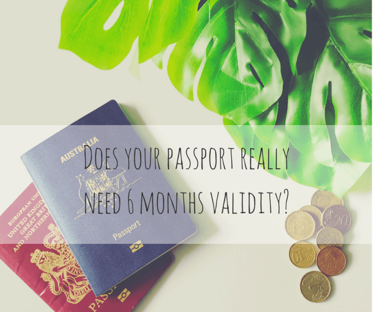Does your passport really need 6 months validity?