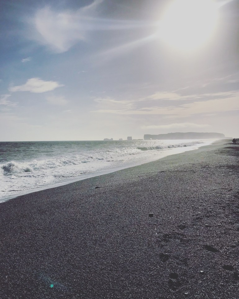 World famous Reynisfjara with its black sandy beach- 38 photos of iceland from the wandering darlings