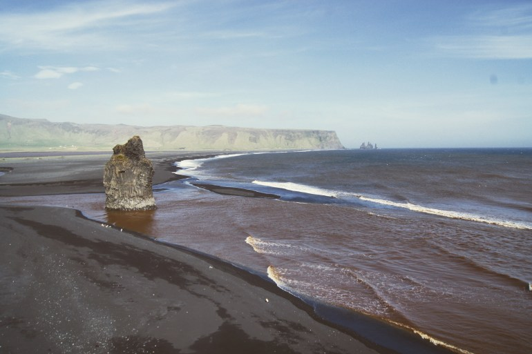 The colours are out of this world.. Overlooking Reynisfjara