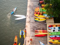 Seeing the Kayaks from above
