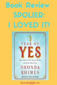 Book Review -Year of Yes-Shonda Rhimes (1)