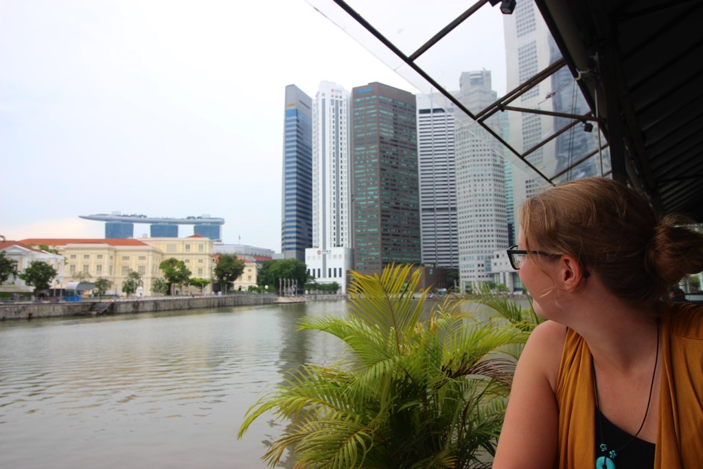 Singapore River view
