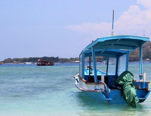 Boat Gili Islands