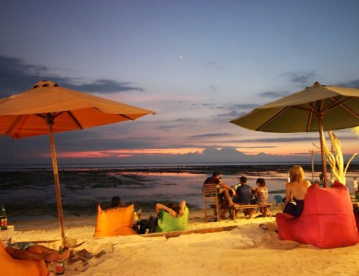 Budget Gili, Sunset, Gili Trawangan, Sunset Beach