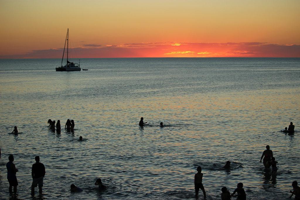 Henley Beach, sunset