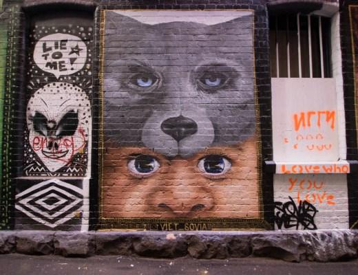 graffiti lanes in Melbourne | street art