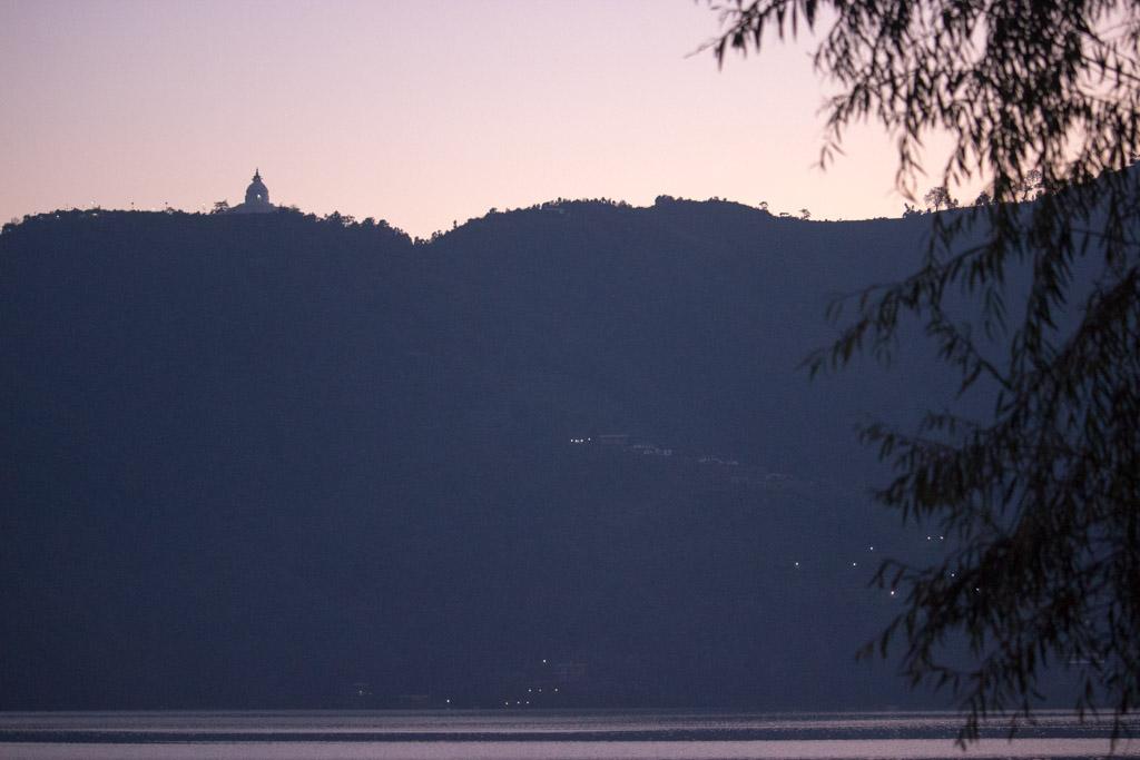 World Peace Pagona | Pokhara | Sunset | Phewa Lake | Nepal