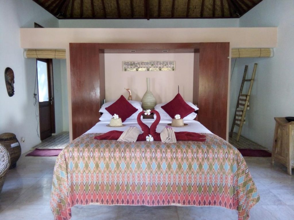 Kebun Kupu Kupu Eco Resort | Gili Meno | Gili eilanden | Indonesië