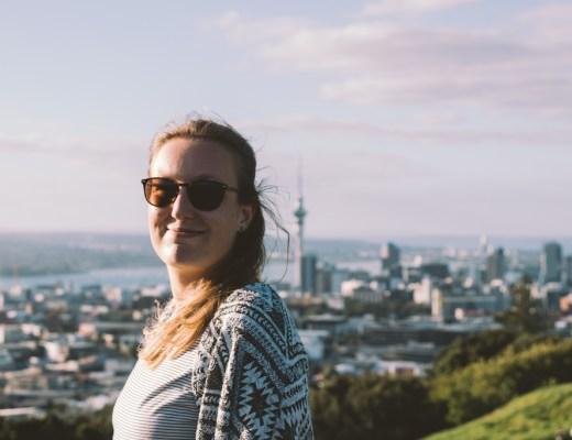 Mount Eden | Auckland | Skytower | Auckland CBD | Volcano | New Zealand