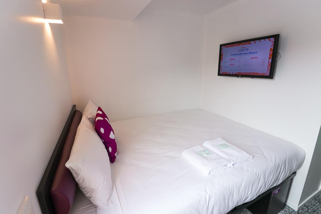 Een privékamer bij JUCY Snooze in Queenstown
