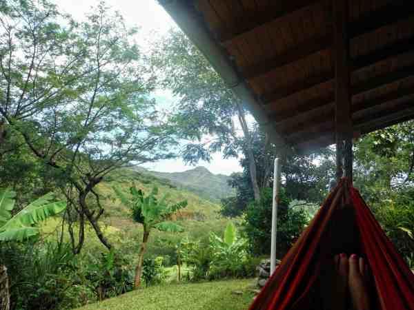 Ecuador Itinerary, Vilcabamba Hosteria Izhcayluma Hammock View