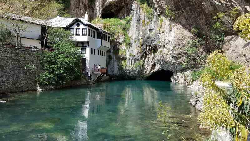 day trip from Mostar, Blagaj Tekija in Mostar