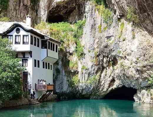 Blagaj Tekija in Mostar | places to visit in Mostar