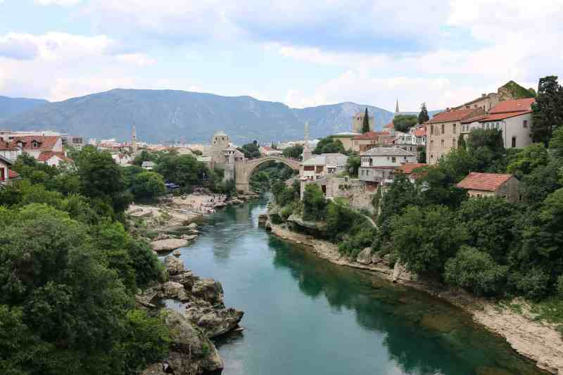 mostar bridge | places to see in Mostar