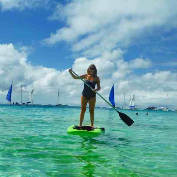 one week boracay paddle boarding