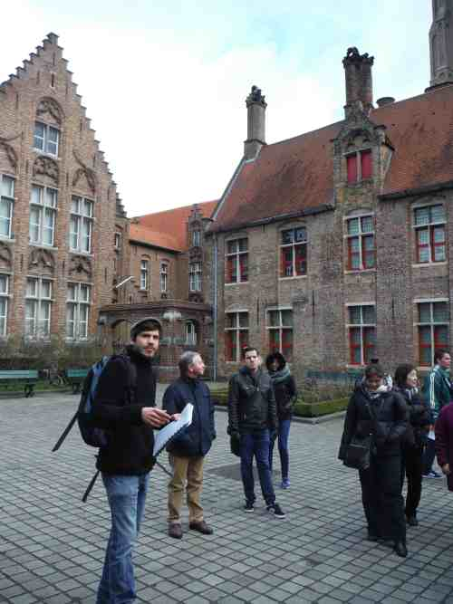 things to do in Bruges, free walking tour in Bruges