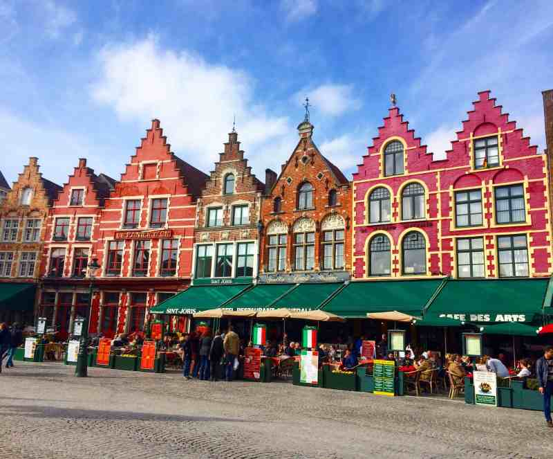 3 days in Belgium, Gingerbread houses in Bruges