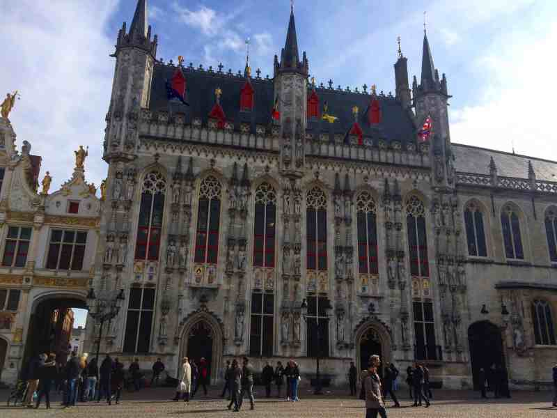3 days in Belgium, City Hall in Bruges