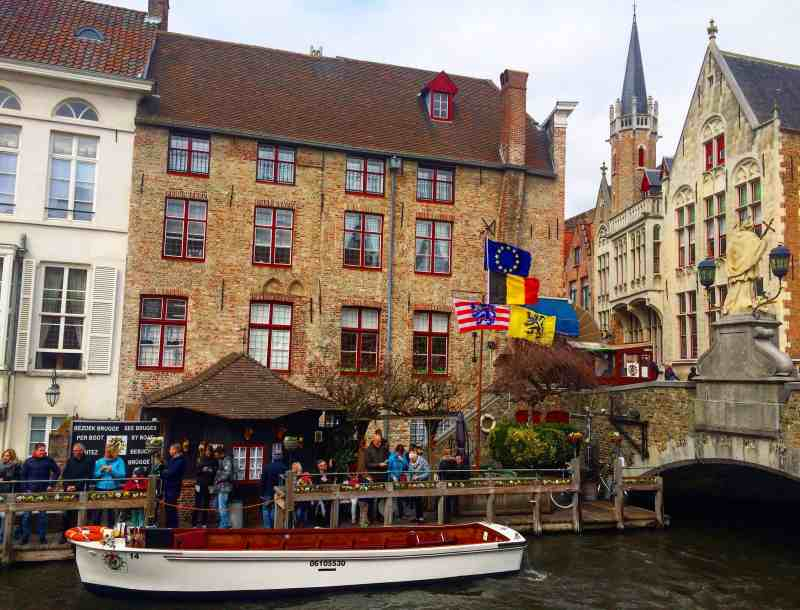 3 days in Belgium, Canal in Bruges