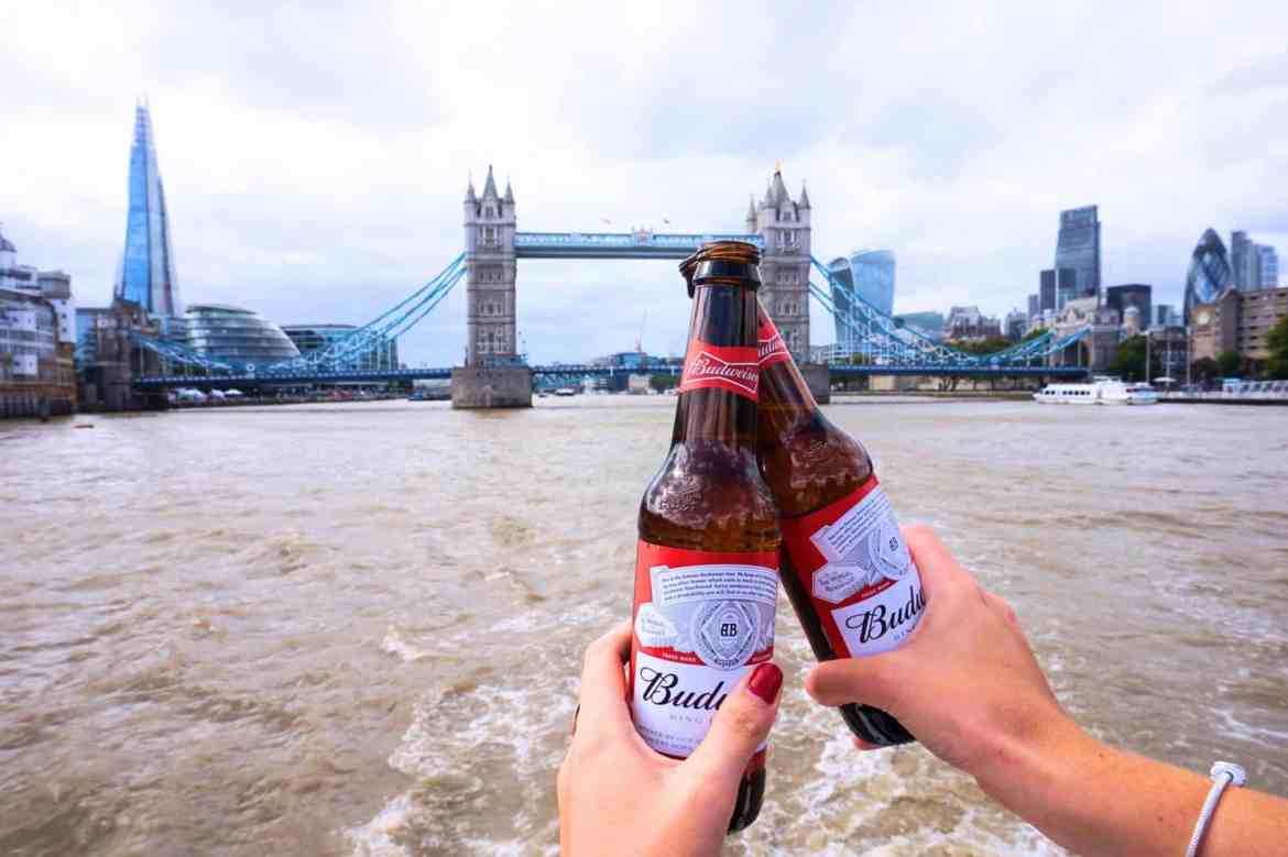 beers on the river thames