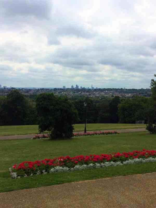 picnic in a london park with a city view alexandra palace