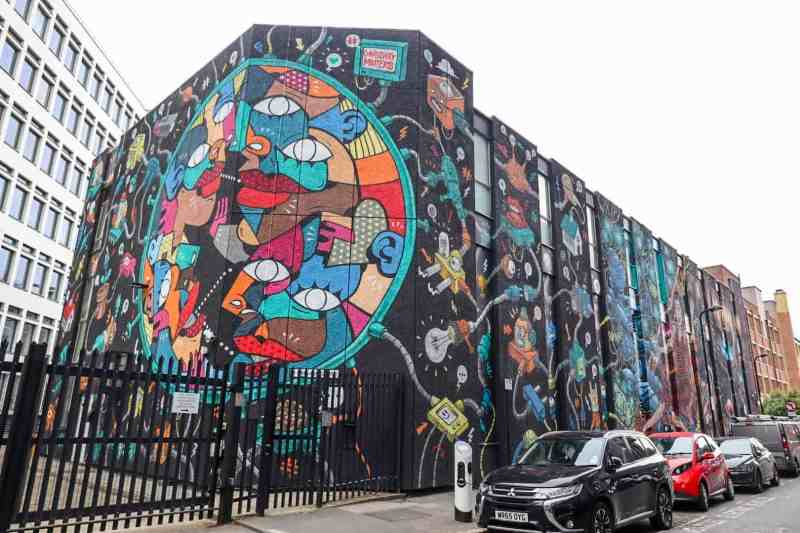 places to visit in Shoreditch Holywell Lane Street Art
