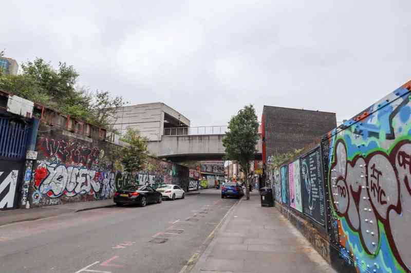 places to go in Shoreditch, Brick Lane Graffiti