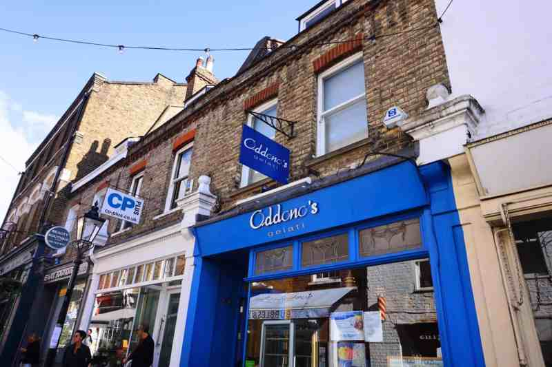 Things to do in Hampstead London Oddono's ice cream