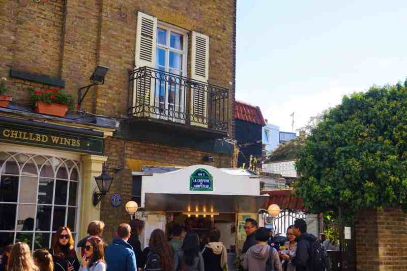 Things to do in Hampstead London Crepe