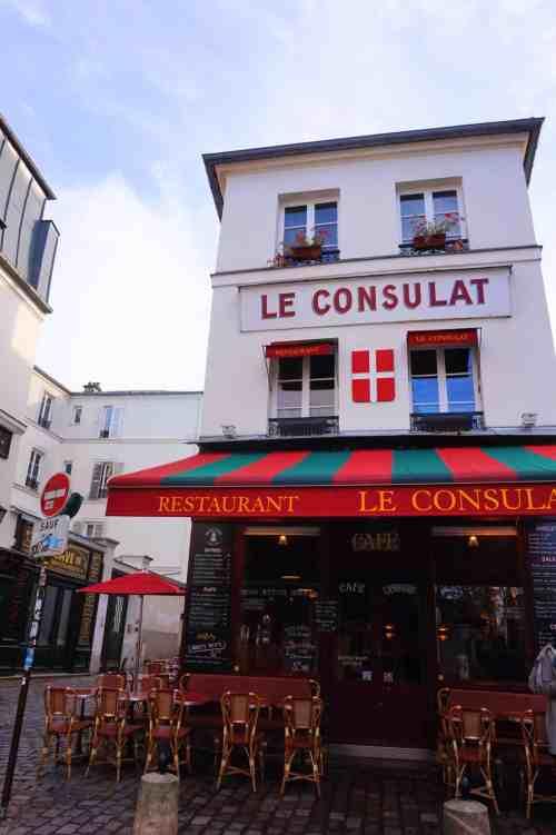 Walk Montmartre to Eiffel Tower Paris le consulat