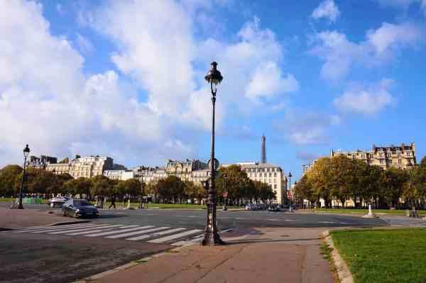 Walk Gare du Nord to Eiffel Tower