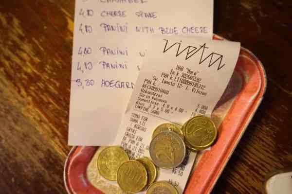 Vilnius Lithuania guide euros