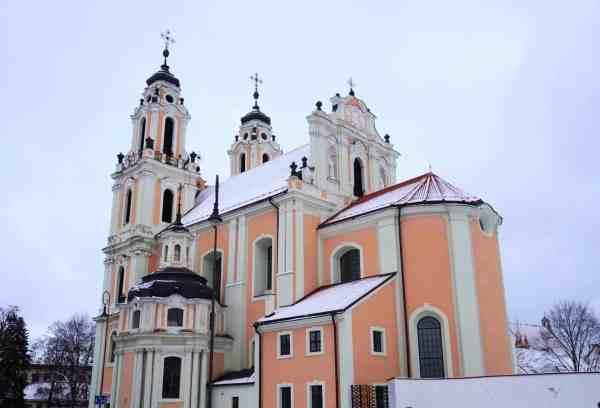 Vilnius Lithuania guide church architecture