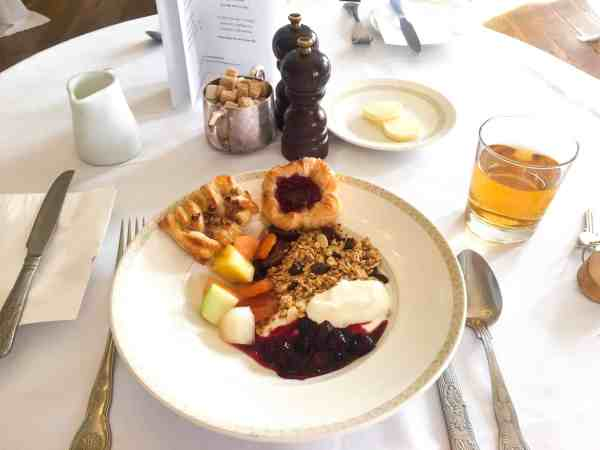 Breakfast at The Manor Country House Hotel