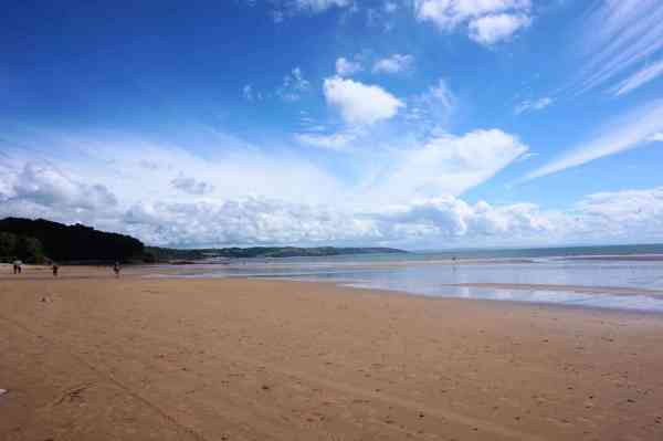 one day in pembrokeshire beaches saundersfoot