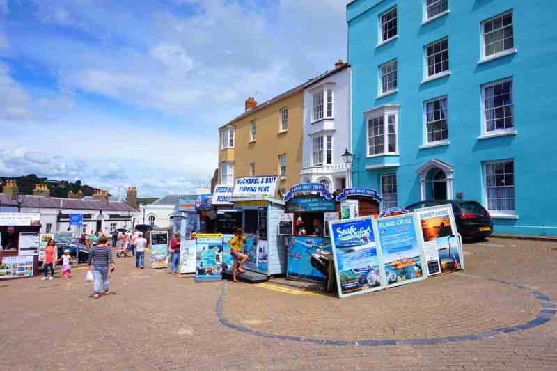 Tenby Boat Trip Signs | Saundersfoot to Tenby